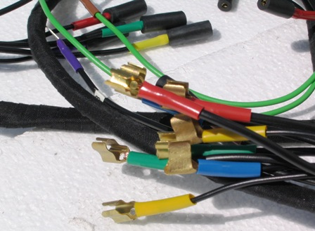 Main wiring loom for left hand drive Citroen DS and ID models on